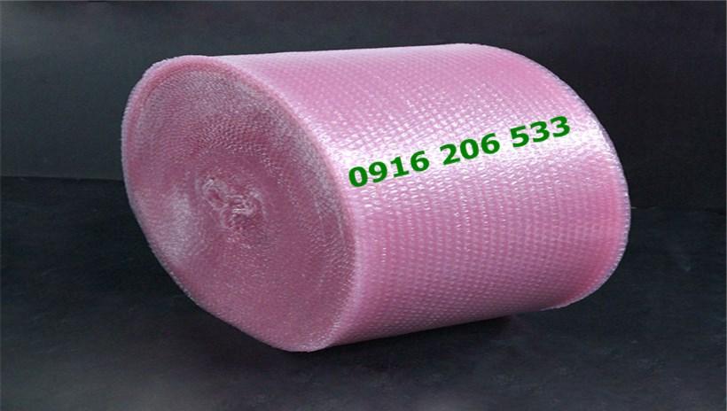 cuộn xốp hơi màu hồng