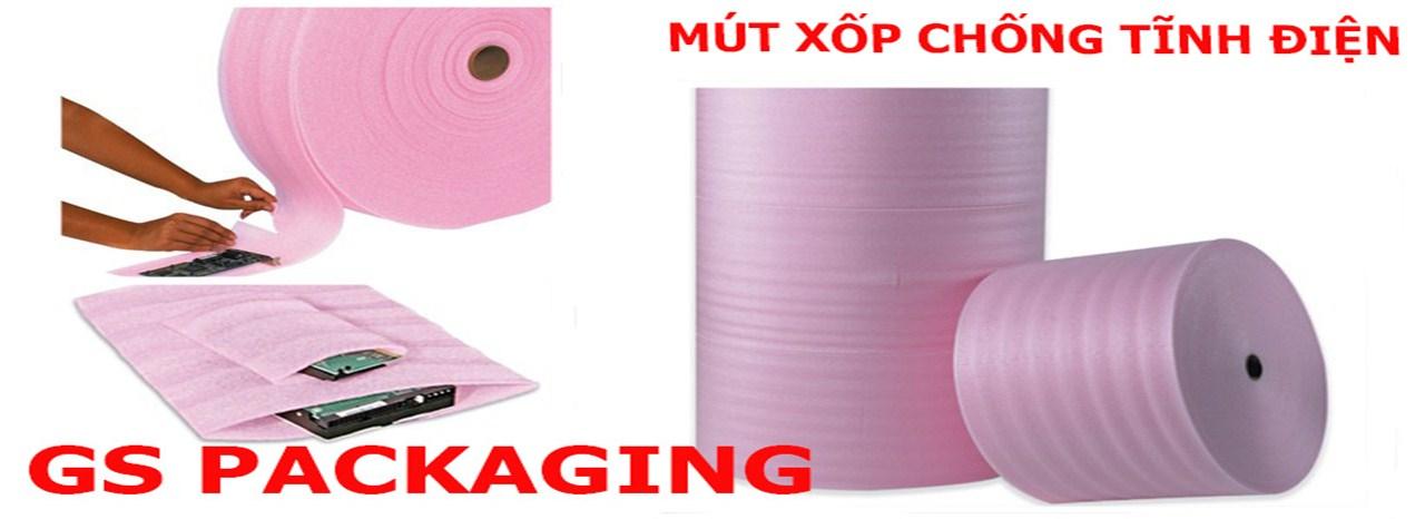 Mút xốp PE Foam màu hồng