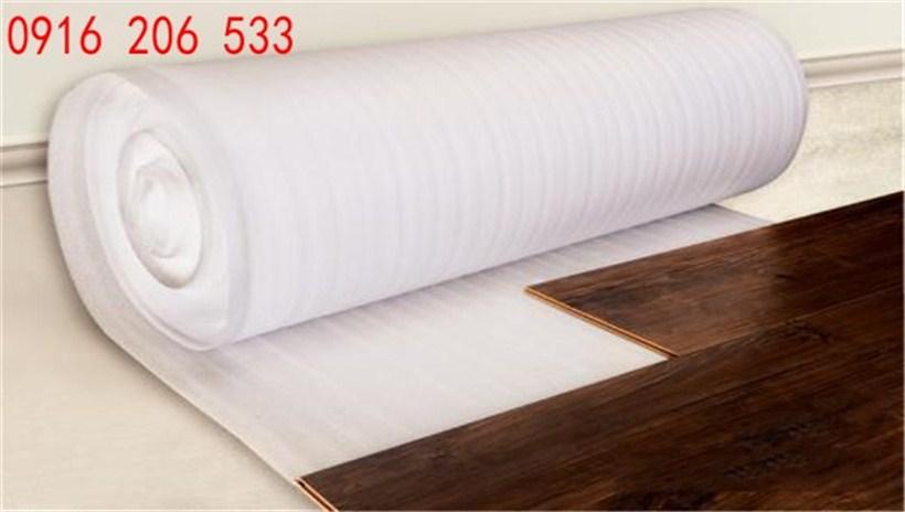 Mút xốp 2mm tráng nilon lót sàn gỗ