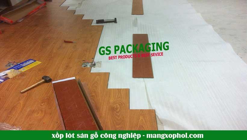 xốp lót sàn gỗ công nghiệp