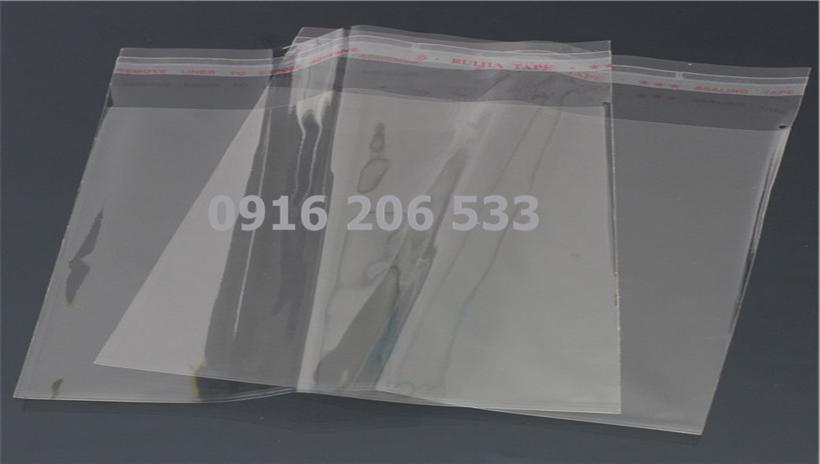 Túi nilon bóng kính kích thước 20*25cm