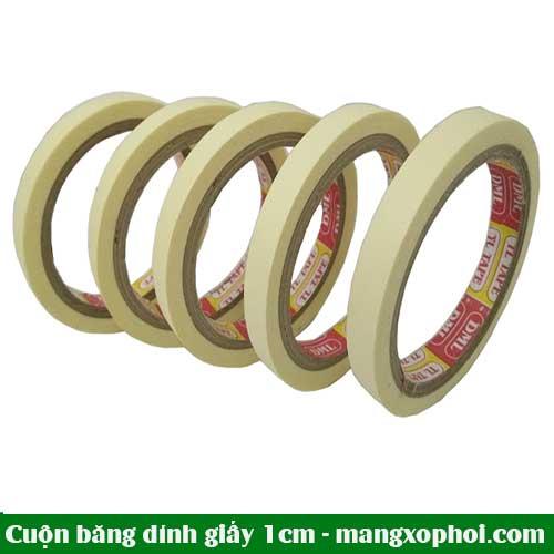 Cuộn băng dính giấy 1cm