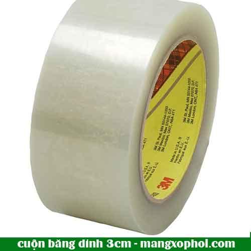 Cuộn băng dính 3cm