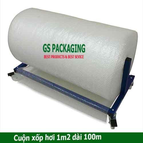 cuộn xốp hơi 1m2 dài 100m