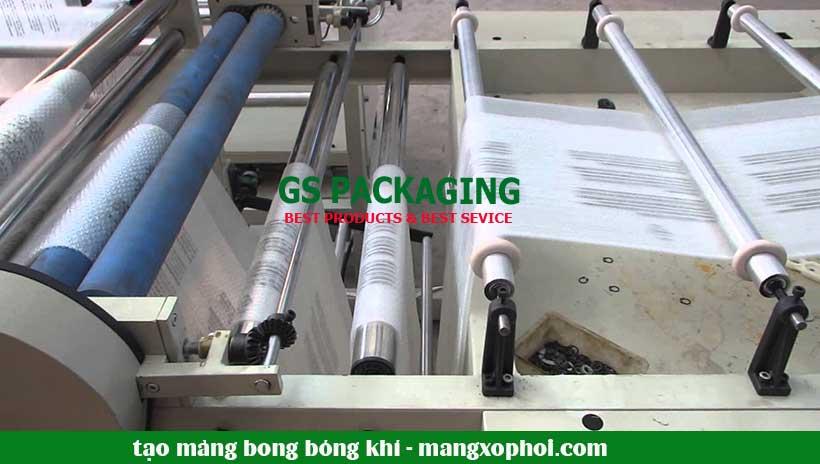 Quá trình tạo màng bong bóng khí