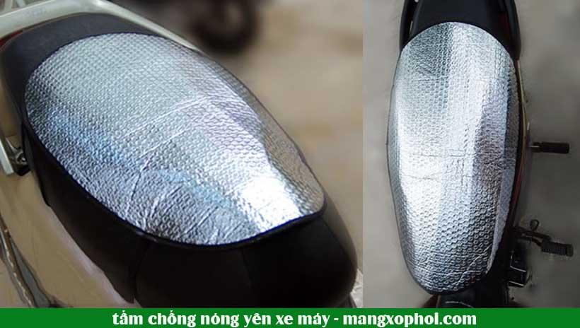 Tấm chống nóng cho yên xe máy