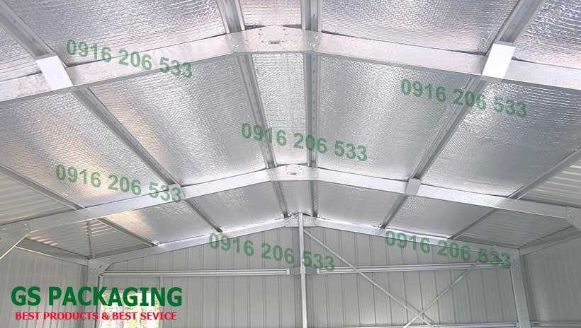 Cách nhiệt chống nóng cho nhà xưởng sản xuất công nghiệp