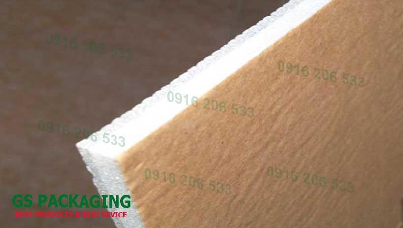Xốp cách nhiệt PE OPP 10mm một mặt sử dụng băng dính