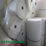 Cuộn xốp màu trắng dầy 2mm