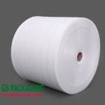 Cuộn mút xốp màu trắng 0.5mm