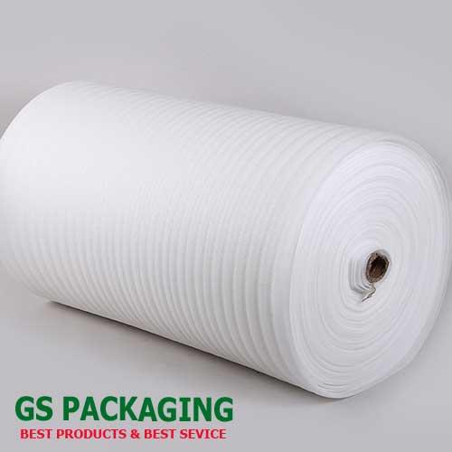Cuộn mút xốp màu trắng dầy 1mm