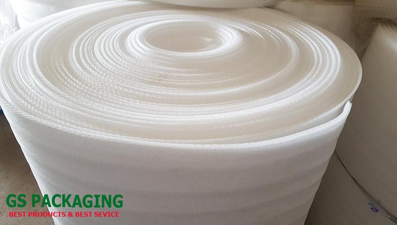 cuộn xốp 20mm trắng dài 25m