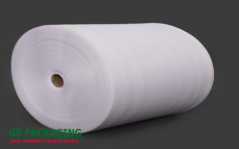 Hình ảnh cuộn mút xốp Pe foam 0,5mm